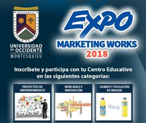 ¡Participa! Expo Marketing Works 2018