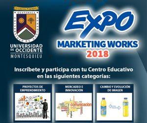 ¡Participa! Expo Marketing Works 2018