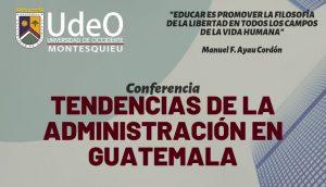 Participa – Conferencia: Tendencias de la Administración en Guatemala