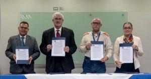 Firman Convenio de Cooperación Interinstitucional Se-Conred y Universidad de Occidente