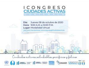 I CONGRESO DE CIUDADES ACTIVAS / GUATEMALA
