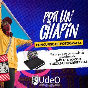 """Bases Concurso de Fotografía 2021 """"Por Un Chapín"""""""